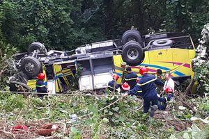 Vụ xe khách chở sinh viên rơi xuống vực đèo Hải Vân: Đã khởi tố tài xế
