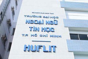 Không công nhận ông Trần Quang Nam là Hiệu trưởng ĐH Huflit