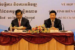 Việt Nam, Campuchia nỗ lực đẩy mạnh hợp tác vùng biên
