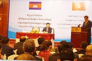 Việt Nam - Campuchia tăng cường hợp tác an ninh - quốc phòng và phòng chống tội phạm xuyên biên giới