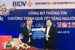 BIDV giành 20 tỷ đồng tặng quà Tết cho đồng bào nghèo