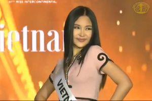 Lê Âu Ngân Anh trình diễn ở Miss Intercontinental gây nhiều tranh cãi