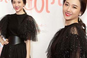 Hari Won diện váy xuyên thấu gây bất ngờ vì lộ thân hình gầy gò
