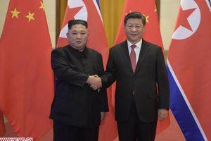 Hai nhà lãnh đạo Trung Quốc và Triều Tiên hội đàm, đạt được nhất trí quan trọng