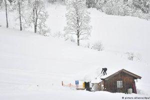 Ít nhất 14 người thiệt mạng do tuyết rơi dày ở châu Âu
