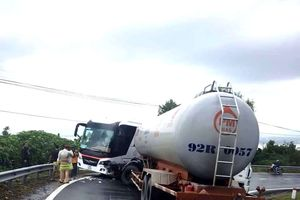 Lại xảy ra tai nạn trên đèo Hải Vân