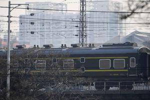 Tàu chở nhà lãnh đạo Triều Tiên rời Bắc Kinh