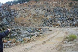 Hà Tĩnh: Mỏ khai thác đá Ngọc Hải 'bức tử' hàng chục hộ dân