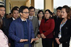 Phó Thủ tướng Vũ Đức Đam thăm Trường Dân tộc nội trú PTCS Chợ Mới