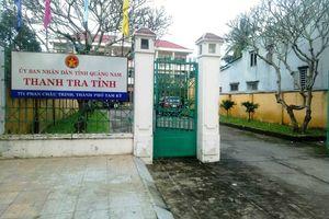 Phó chánh thanh tra tỉnh Quảng Nam tử vong tại trụ sở, trên người có thương tích