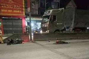 Người đàn ông bị xe tải đâm tử vong trên quốc lộ