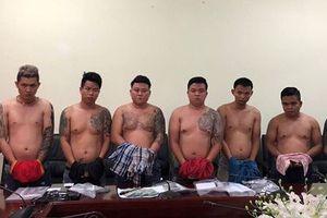 Cảnh sát hình sự bắt giữ băng giang hồ Vũ 'bông hồng'
