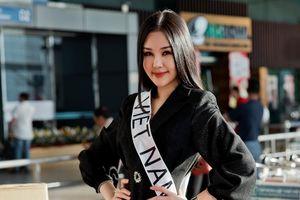 Ai cho phép Ngân Anh đeo dải băng hai chữ 'Việt Nam' đi thi quốc tế?