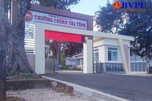 Trộm đột nhập Trường Chính trị tỉnh lấy hơn nửa tỷ đồng