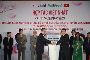 Ra mắt liên doanh dinh dưỡng Việt – Nhật