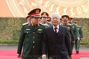 Tổng Bí thư, Chủ tịch nước Nguyễn Phú Trọng dự Hội nghị Quân chính toàn quân năm 2018