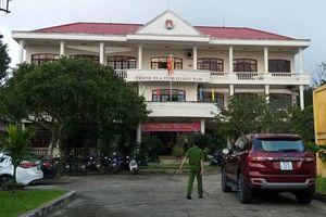 Phó chánh thanh tra Quảng Nam tử vong tại trụ sở