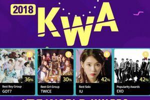 Trong khi EXO và TWICE được vinh danh, BTS lại trắng tay tại KBS World Awards