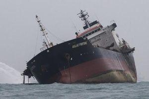 Hé lộ nguyên nhân khiến tàu Việt Nam bùng cháy ở Hong Kong