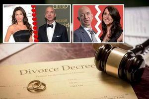 Báo Mỹ: Tỷ phú Jeff Bezos ly hôn vợ vì ngoại tình