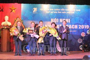 VNPT Thừa Thiên Huế đạt danh hiệu Doanh nghiệp xuất sắc năm 2018
