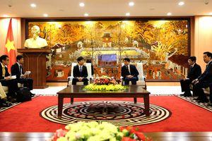 Hà Nội mong muốn hợp tác với Nhật Bản trong lĩnh vực môi trường