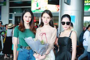 Hoa hậu Hương Giang đọ sắc cùng Á hậu Chuyển giới quốc tế