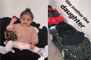 Bộ sưu tập quà xa xỉ hàng chục nghìn USD của con gái Kylie Jenner