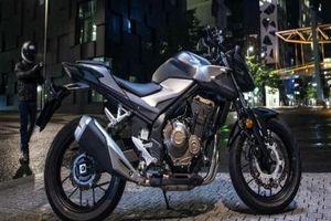 2019 Honda CB500F: Môtô tầm trung khuấy động phái mạnh