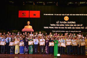 TP Hồ Chí Minh tuyên dương 96 tấm gương thầm lặng mà cao cả