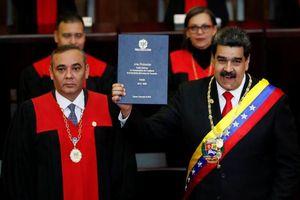 Toàn cảnh lễ nhậm chức của Tổng thống Venezuela Nicolas Maduro