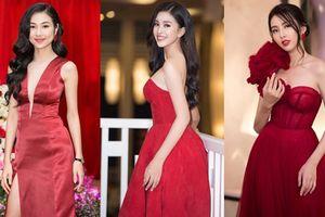 Hoa hậu Tiểu Vy cùng dàn mỹ nhân đọ dáng trong sắc đỏ