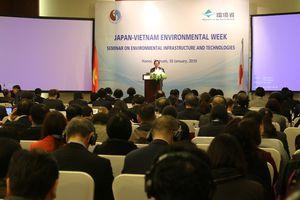 Đẩy mạnh hợp tác Việt Nam - Nhật Bản trong hạ tầng và công nghệ môi trường