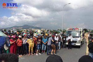 Trên đường về nhà, nữ học sinh chết thảm dưới bánh xe tải