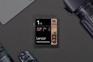Vượt mặt Sandisk, Lexar ra mắt thẻ nhớ SD dung lượng 1TB đầu tiên thế giới