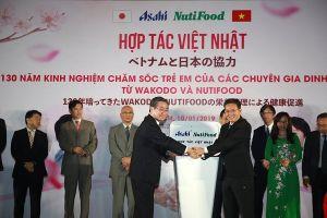 NutiFood bắt tay với thương hiệu thực phẩm dinh dưỡng số 1 Nhật Bản