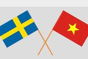Điện mừng nhân kỷ niệm 50 năm quan hệ ngoại giao Việt Nam-Thụy Điển