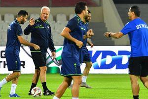 ASIAN CUP 2019: HLV Bernd Stange của đội tuyển Syria bị sa thải
