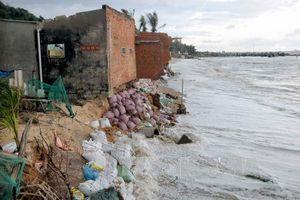 Hỗ trợ tỉnh Bình Thuận 180 tỷ đồng xây dựng bờ kè ngăn sạt lở bờ biển