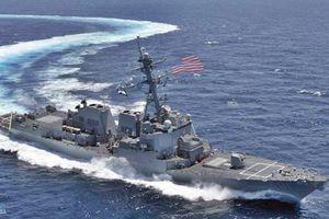 Khu trục hạm tên lửa Mỹ tiến vào biển Baltic
