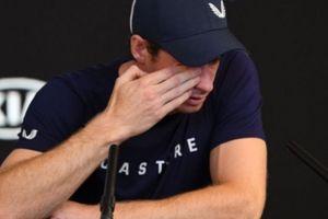 Sốc: Murray rơi lệ, thừa nhận có thể giải nghệ sau Australian Open 2019