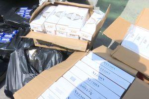 Bắt quả tang vụ vận chuyển gần 9.000 bao thuốc lá ngoại nhập lậu