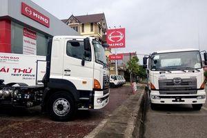 Triệu hồi hàng chục xe tải Hino bị lỗi cảm biến tốc độ tại Việt Nam