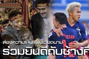 Báo Thái Lan cảm ơn CĐV Việt Nam sau chiến thắng trước Bahrain
