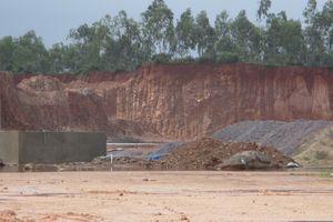 Bình Định: Khai thác đất trái phép tại đồi Hỏa Sơn, doanh nghiệp bị phạt 90 triệu đồng