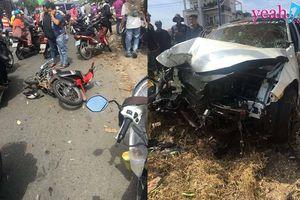 Bình Dương: Hai ô tô chạy đua không làm chủ được tốc độ gây tai nạn khiến 1 người tử vong