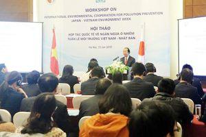 Việt Nam – Nhật Bản đẩy mạnh hợp tác ngăn ngừa ô nhiễm