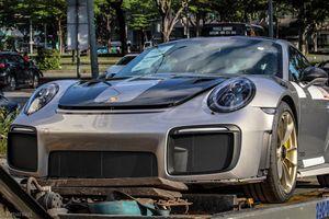 Cận cảnh siêu xe Porsche vừa cập bến Việt Nam, chờ về tay 'dân chơi'