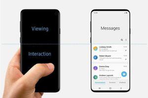 Ảnh tiếp thị đầu tiên của Samsung Galaxy S10 bất ngờ lộ diện