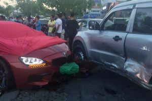 Ô tô BMW gây tai nạn liên hoàn ở Sài Gòn
